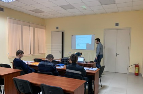 Pergam specialists conducted training on working with Eddyfi Lyft  flaw detector in Minsk